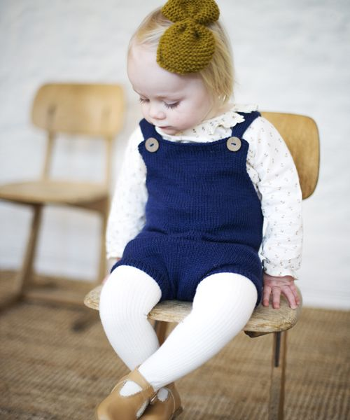 The Pocket Playsuit. From Charlott Pettersens Ministrikk.no. Patterns soon availbe in English also.