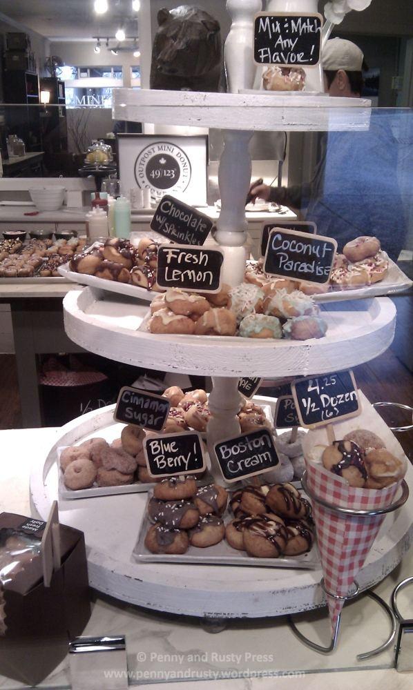 Mini Donuts! @OutpostMDC in Steveston