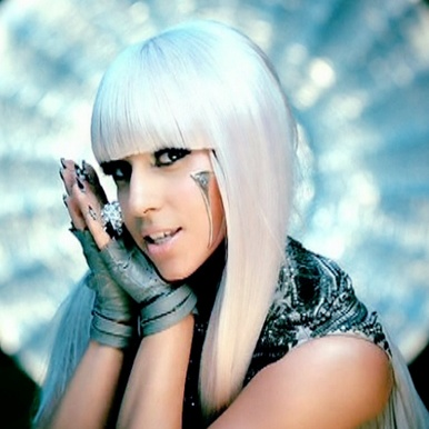 "Lady Gaga ""Poker Face""  Makeup by Sharon Gault"