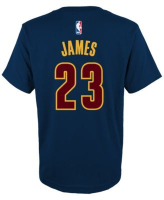 adidas Toddlers' LeBron James Cleveland Cavaliers Player T-Shirt