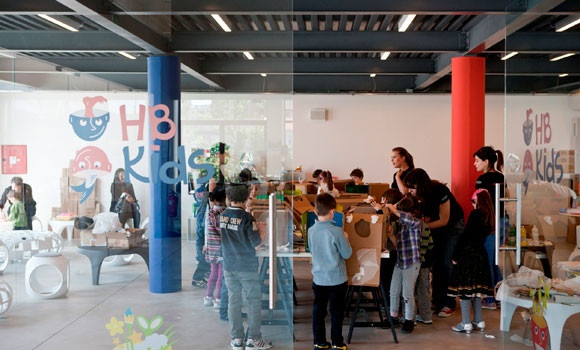 hangar bicocca - kids creative lab