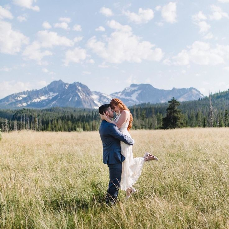 Idaho mountain ranges are not just for hiking, they make the perfect place to tie the knot.