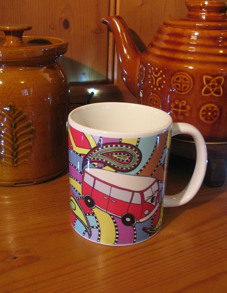 VW Love Bus mug