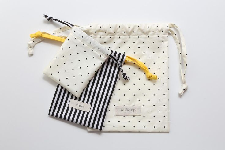 DIY Bag : DIY Cute Drawstring Bag