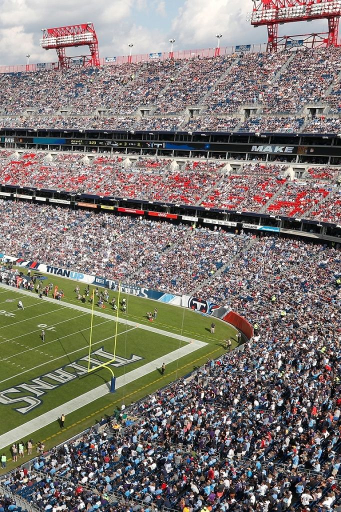 Tennessee Titans Seating Chart In 2020 Nissan Stadium Tennessee Titans Stadium