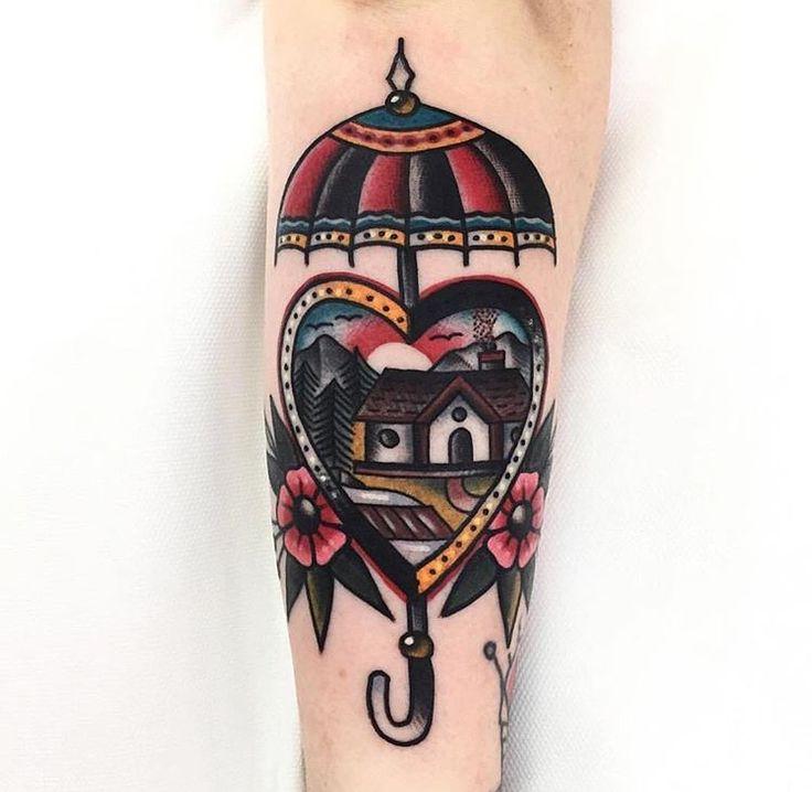 American traditional tattoos — tattooingisanart: ludolamainbleue