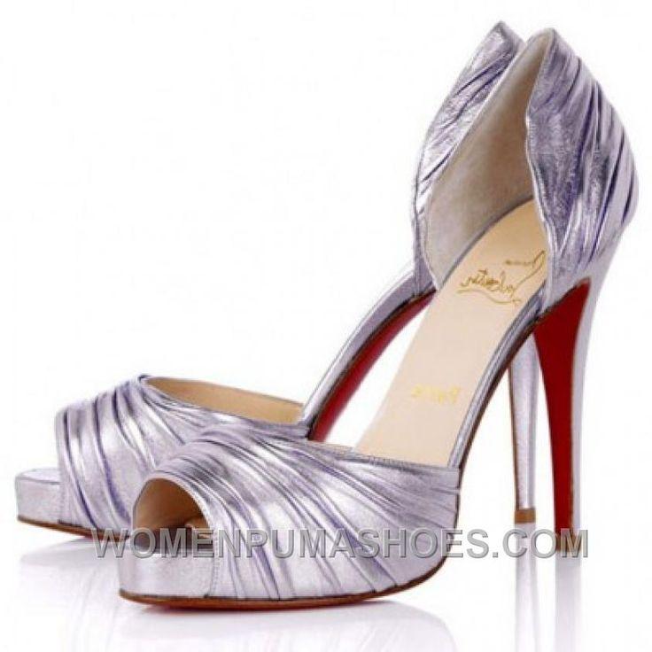 http://www.womenpumashoes.com/christian-louboutin-best-sale-peep-toe-pumps-silver-authentic-nhkbg.html CHRISTIAN LOUBOUTIN BEST SALE PEEP TOE PUMPS SILVER AUTHENTIC NHKBG Only $134.00 , Free Shipping!
