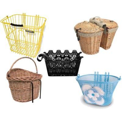 how to put a rear basket on a bike
