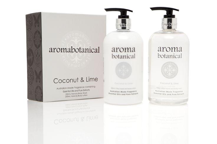 Coconut & Lime Bath & Body Duo #aromabotanical