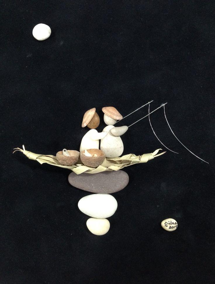 Pebble art(gülen)