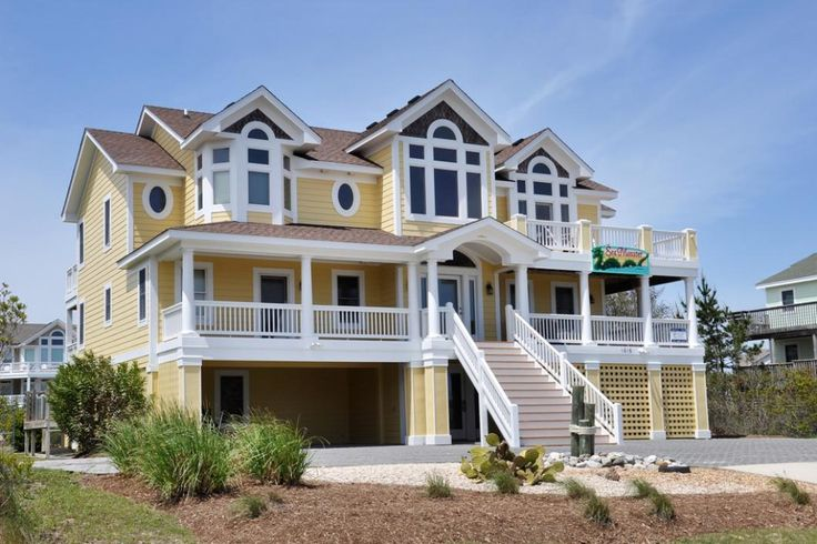 18 best Almost Oceanfront Outer Banks Vacation Rentals from Village ...
