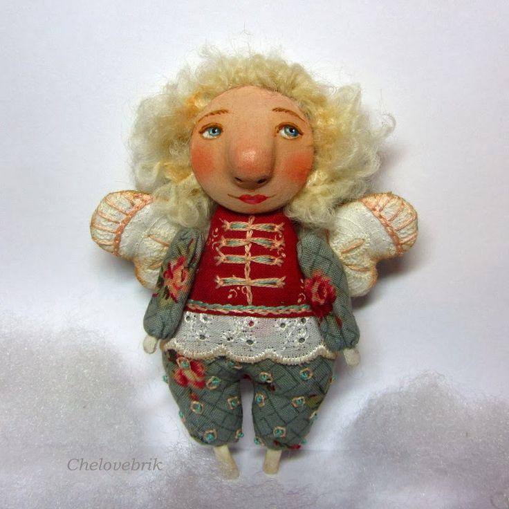 Человебрики : текстильная кукла