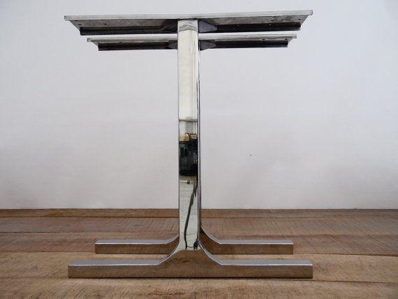 28 Single Bar Table Legs STAINLESS STEEL 28 Width by Balasagun
