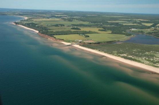 Basin Head, Beach, P.E.I. Canada
