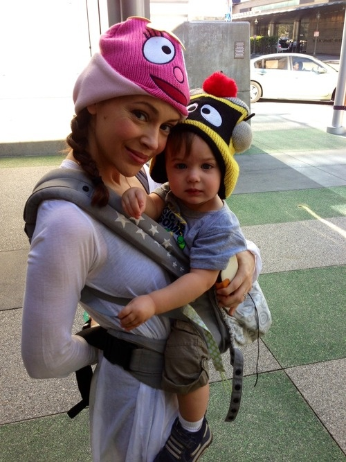 Allyssa Milano had a daughter named Elizabella at 41.  She joined big brother Milo who was 3.