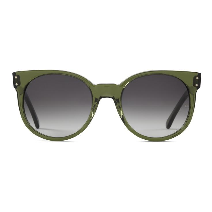 @Oliver Goldsmith & Claire Goldsmith Eyewear | 'Balko' in jade - Oliver Goldsmith #Sunglasses | #mido