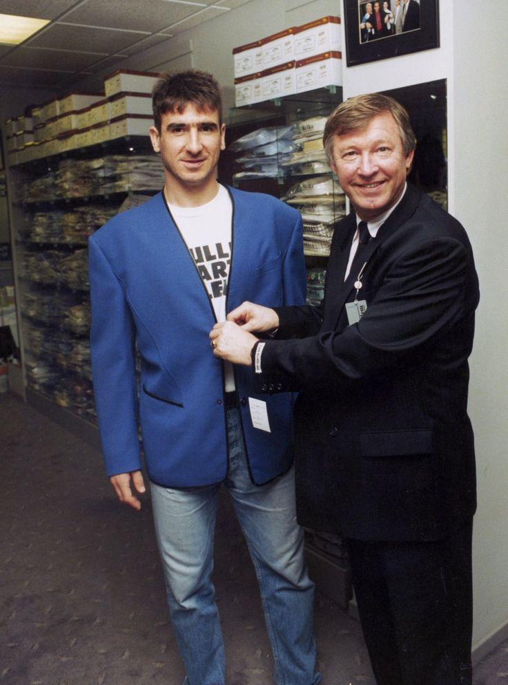Eric Cantona & Alex Ferguson