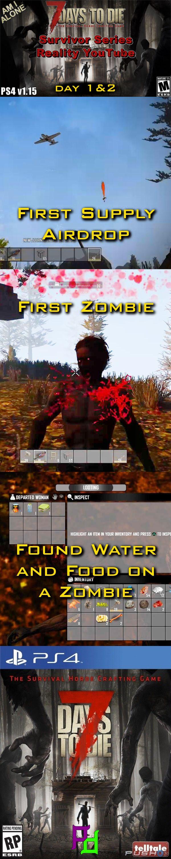 7 Days to Die First in the Survivor Series.  Supply Airdrop, Zombie, Water and more.  Watch on YouTube https://youtu.be/uwxfrWC-WoQ #7DtD #7DaysToDie