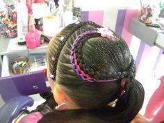 preciosos peinados infantiles ideas locas fiesta de cumpleaños divertida