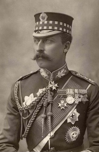 HRH PRINCE ARTHUR OF SAXE COBURG GOTHA DUKE OF CONNAUGHT AND STRATHEARN VICEREGAL GOVERNOR OF CANADA in the uniform of the Scots Guards.