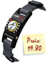 Katzenhalsband cat-life, Halsband für Katzen - Weltneuheit mit individueller Sicherheitseinstellung nach Gewicht