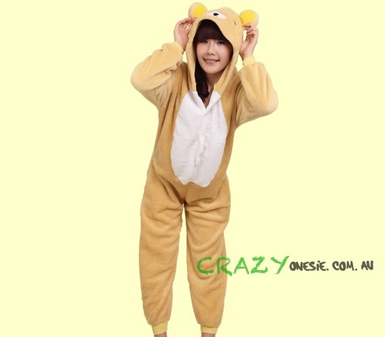 Teddy Bear Onesie. 25% off EVERYTHING in store. Free Express Delivery Australia-wide. Visit www.crazyonesie.com.au for more details. Visit our Facebook page https://www.facebook.com/crazyonesie for exclusive competitions and discounts