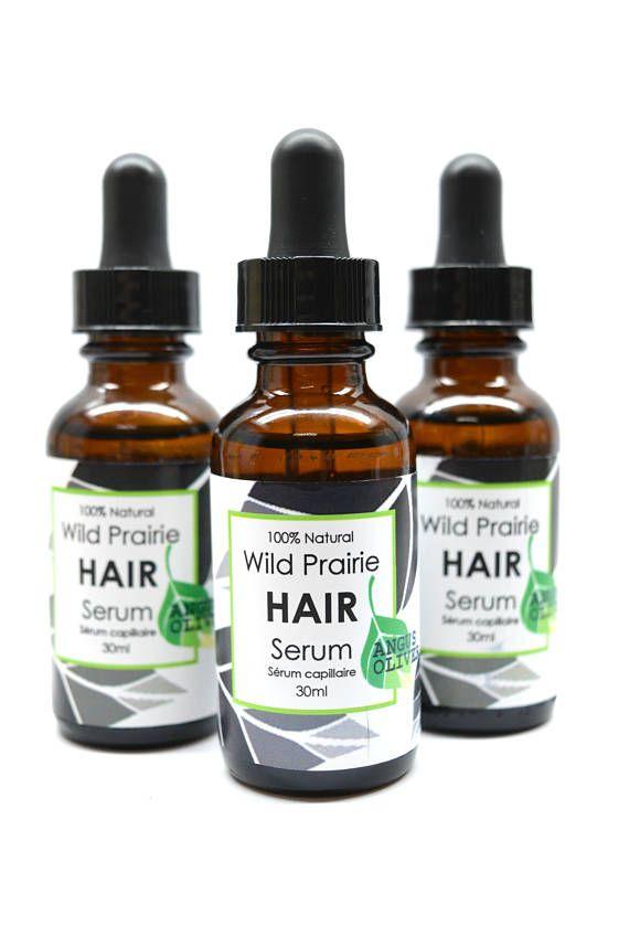 SALEWild Prairie Hair Serum natural hair care leave-in