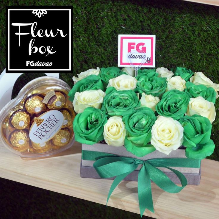 Green and White Roses Fleur Box and Chocolates  Flowers Gifts Delivery www.FGDavao.com 0998 579 5720  #fleurbox #fleurs #flowerbox #boxofflowers #greenroses #whiteroses #greenandwhite #boxofroses #flowersandgifts #flowersandgiftsdelivery #sendgifts #giftsdavao #giftsph #fggifts #fgdelivery #giftshop #flowershop #flowers #flowersdavao #flowersph #florist #davao #ph