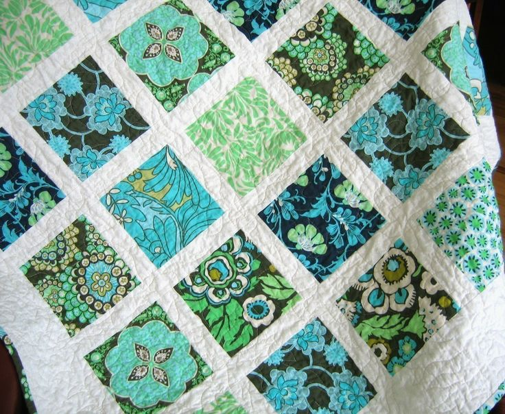 59 best Squares, Charms, Layer Cake Quilts images on Pinterest ... : window pane quilt pattern free - Adamdwight.com