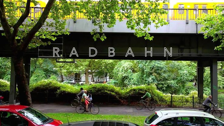 Radbahn U1 Berlin – most of the 9km lane is already built!