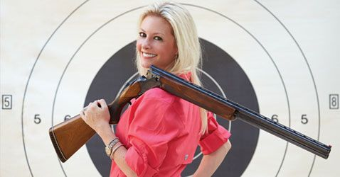 "| photography by Alex Lepe | When I Googled ""Women Shooting Guns,"" the first 10 hits were videos of women looking like idiots. One was titled Best of Funny Girls Shooting Guns Fails-Compilation 2014, another Top 11 Videos of Girls Shooting Guns That They Shouldn't Be. A petite blond shoots a shotgun, and the kickback knocks her over."