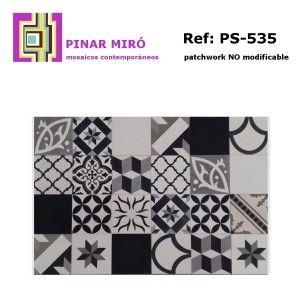 mosaico de hidráulicos para mesa palet