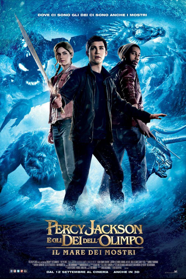 Percy Jackson e gli dei dell'Olimpo: il mare dei mostri, dal 12 settembre al cinema.