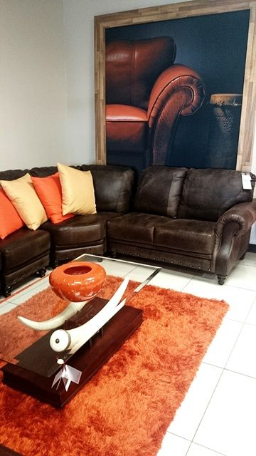 Furniture City #orange #elephantstooth #decor