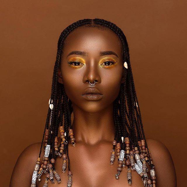 WEBSTA @ afroellemag - braids and beads. @boojiea  @nyarko_photography MUA : @sk1nnyyHairstylist@touchedbytianaaConcept and creative director: @Africanjawn#melanin #flexinmycomplexion #blackisbeautiful #blackbeauty #brownskin #brownbeauty #blackwomen  #nubian #fleek #myblackisbeautiful #blackisbeautiful #blackgirlsrock #melaninonfleek #melaninpoppin #blackgirlmagic #myblackisbeautiful #melaninonfleek #blackqueen #queen #melaninmonday #melaninqueen #blackgirls #blackgoddess