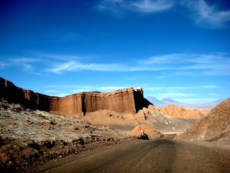 Desierto de Atacama - Valle de la luna