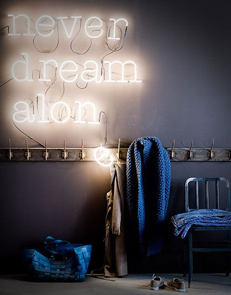 Sweet dreams in shades of blue. Never dream alone.