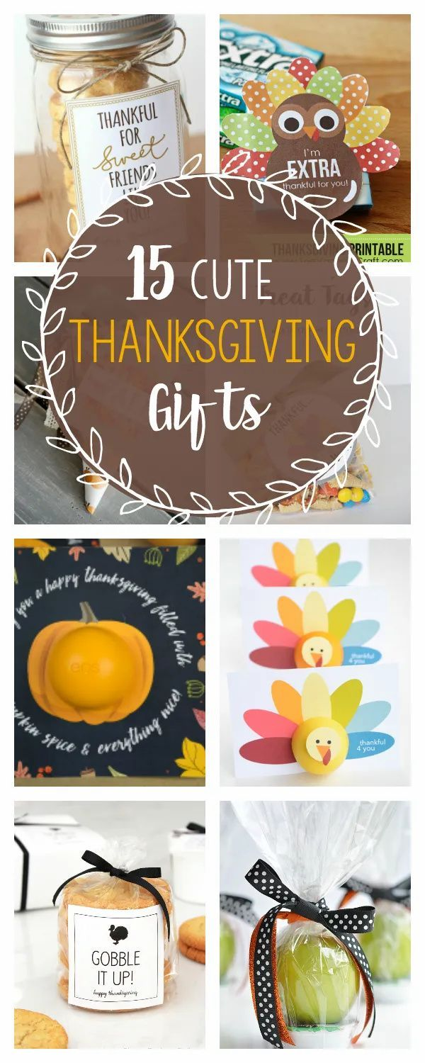 15 Cute Thanksgiving Gift Ideas In 2020 Thanksgiving Gifts Christmas Holidays Holiday Crafts