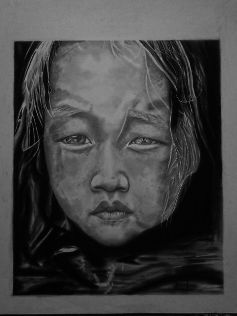 Vietnamese child Photo reference - unknown