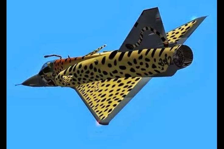Atlas Cheetah C - South African Air Force
