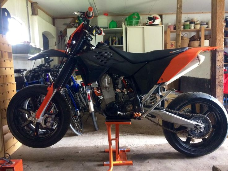 KTM EXC 520 Old dog, new tricks build - Page 2
