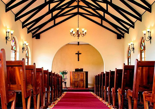A beautiful chapel fit for a beautiful day! Tzaneen Country Lodge