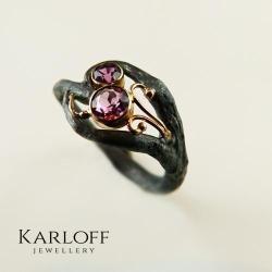 delikatne,eleganckie,kamienie szlachetne - Pierścionki - Biżuteria