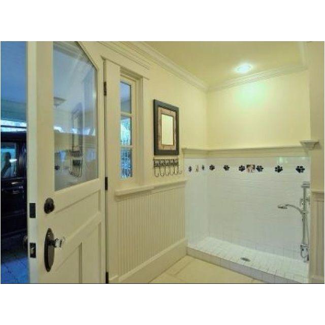 25 best images on pinterest dog shower laundry dog showertraditional bathroomdog washing solutioingenieria Image collections