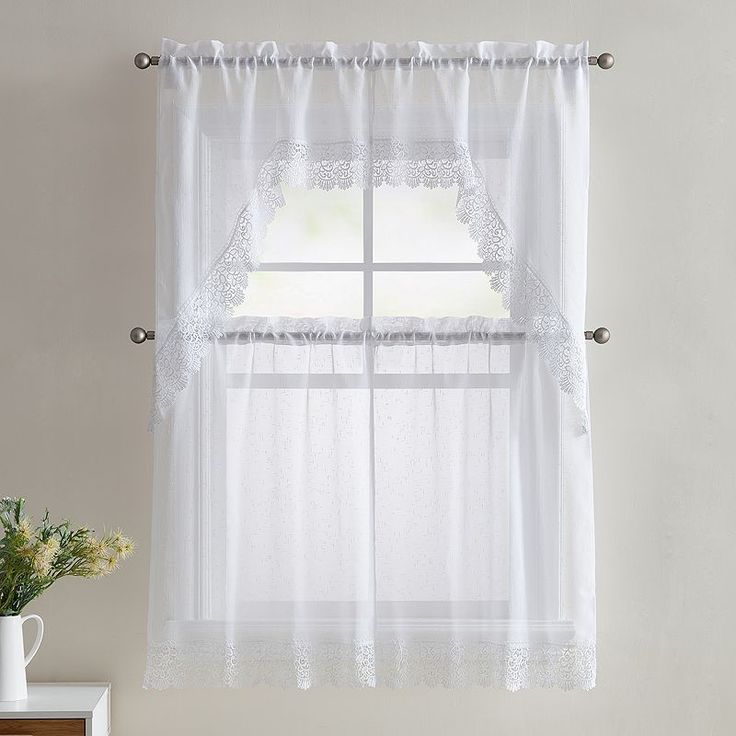 25 Best Ideas About White Lace Curtains On Pinterest Lace Curtains Vintage Curtains And