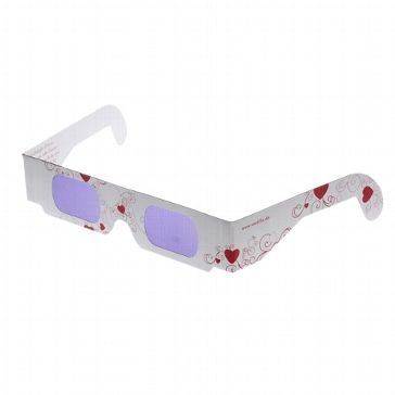 "Brille ""Love is in the Air"" - Accessoire zur Hochzeit - weddix"