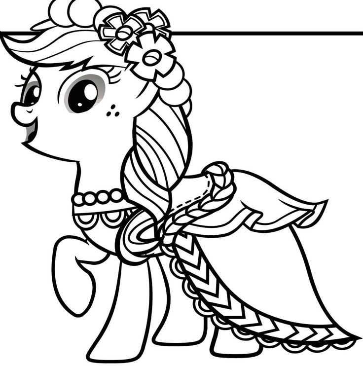 20 best images about my little pony disegni da colorare