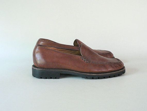 Women Size 7 Brown Leather Loafers by Cole by EinsteinandPippy
