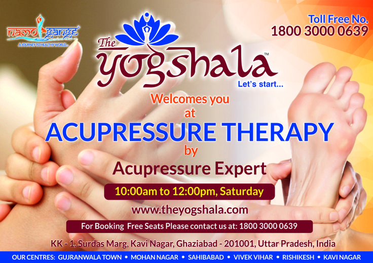 Namo Gange Namaskar!!! The Unit of Namo Gange Trust, The Yogshala is organizing a high profile free workshop on 'Acupressure Therapy' by an Eminent Expert on Saturday (29/04/2017) at Kavi Nagar, Ghaziabad. All the health aspirants are cordially invited for free enrollment as limited seats are available. http://www.theyogshala.com #TheYogshala #TheYogshalaSaturdayFreeWorkshop #TheYogshalaKaviNagarGhaziabad