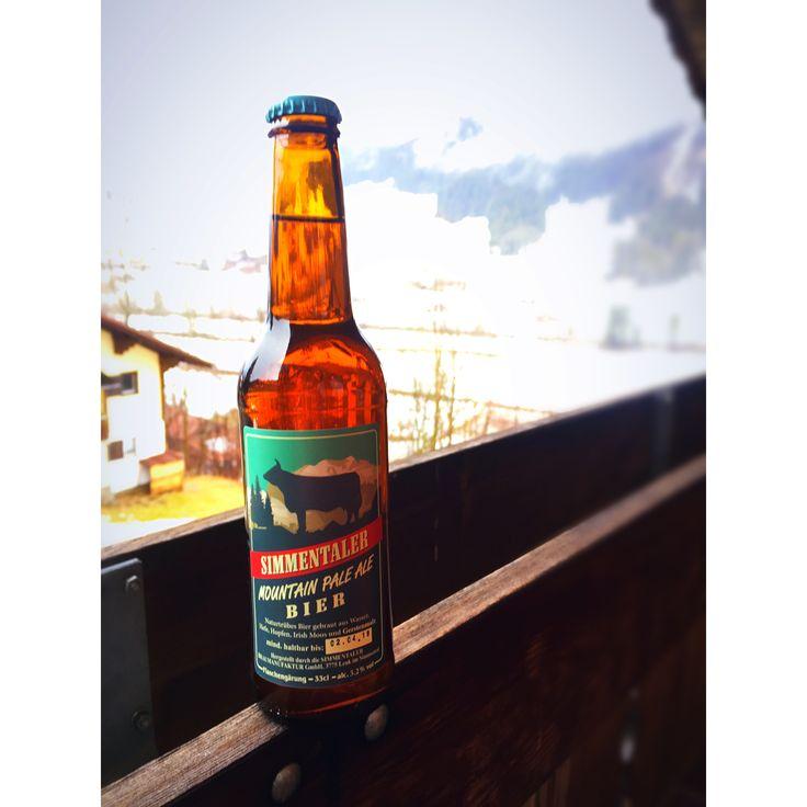 Simmentaler Bier, Mountain Pale Ale, Schweiz, Lenk, Februar 2018 #Prost #Biertagebuch
